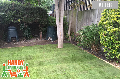 Garden Re-turfing and Lawn Edging