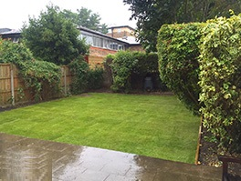 finsbury-park landscaping job after