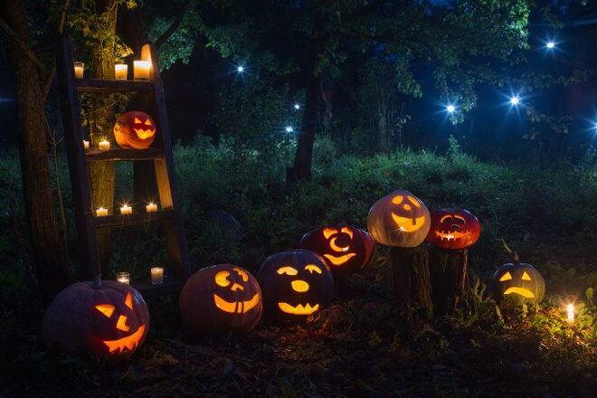 Halloween garden design
