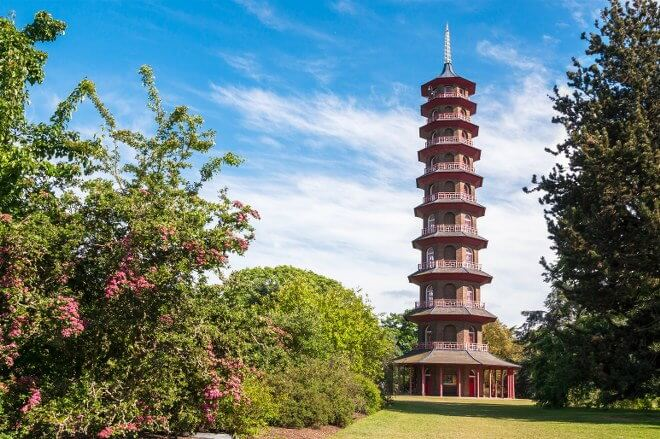 tower in Kew Palace