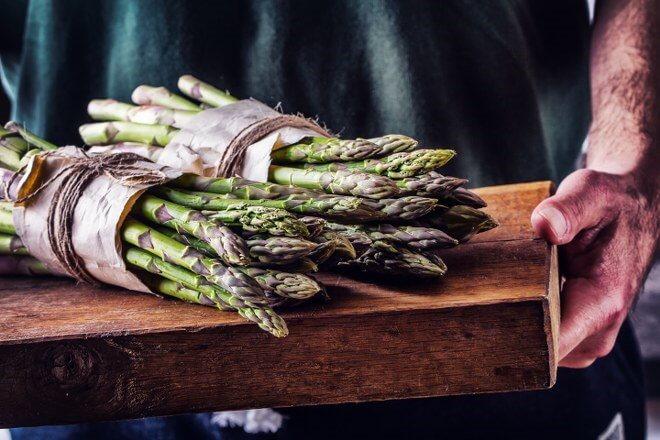 asparagus garden care