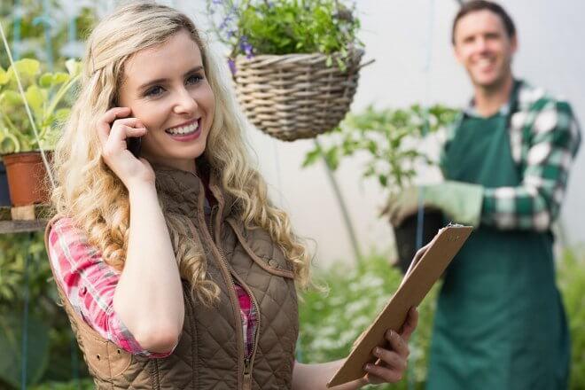 get gardening advice