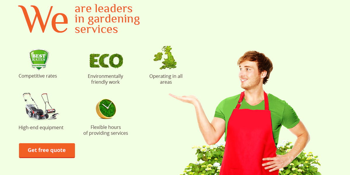 Hire the Leaders in the Gardening Business