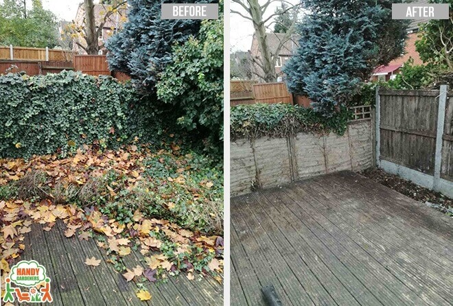Landscaping in Stroud Green N4