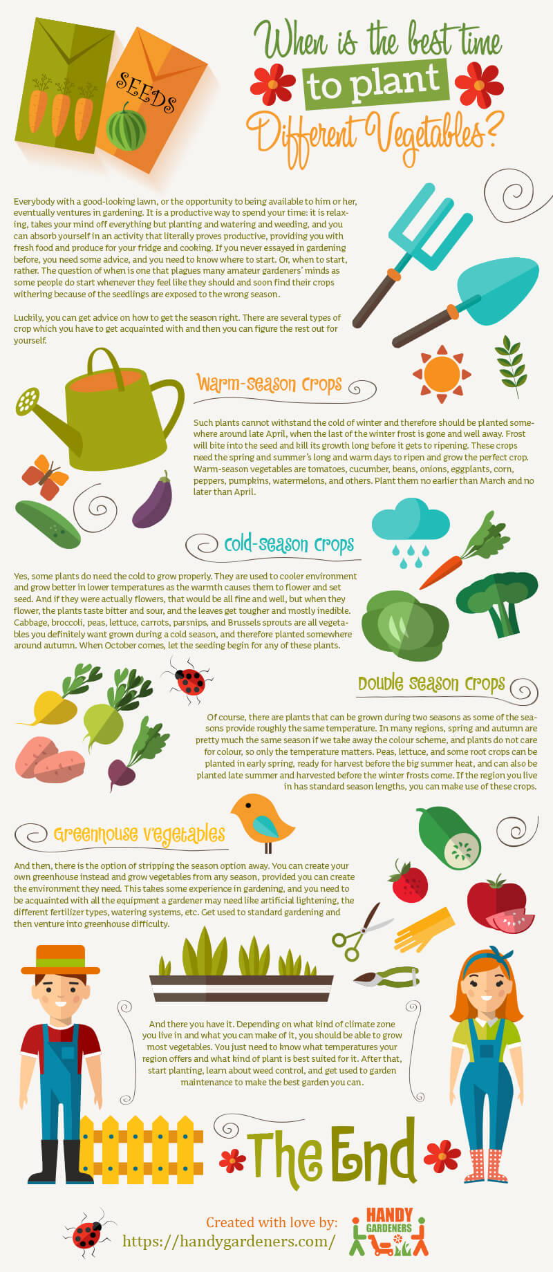 vegetable garden care